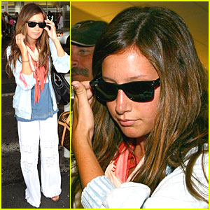 Ashley Tisdale Gets Cabo Crazy