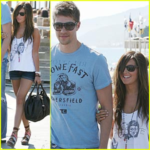 Ashley Tisdale & Scott Speer Couple Up