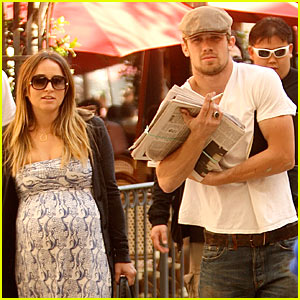 Cam Gigandet & Dominique Geisendorff: Lunch Mates