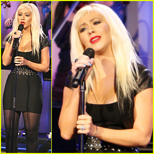 Christina Aguilera's Elegant Evening
