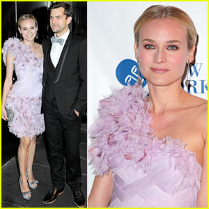 Diane Kruger & Joshua Jackson: New Yorkers For Children