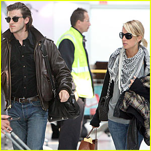 Gaspard Ulliel & Jordane Crantelle Couple Up
