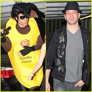 JC Chasez is a Banana Boy
