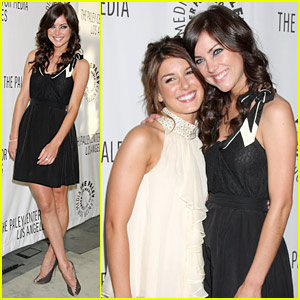 Shenae Grimes & Jessica Stroup: Paleyfest People