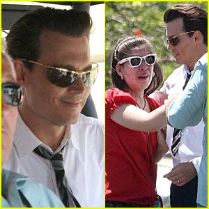 Johnny Depp is Mr. Puerto Rico