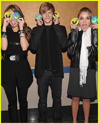 JustJaredJr. Hannah Montana Screening!