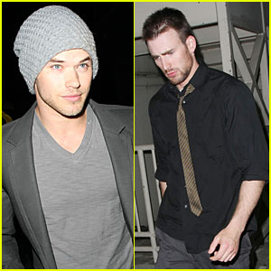 Kellan Lutz & Chris Evans: MyHouse Hotties