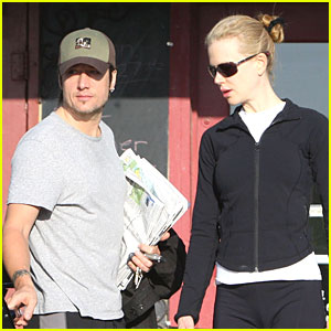 Nicole Kidman Works It Out