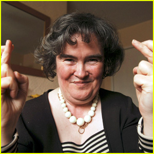 Susan Boyle is Humble At Home