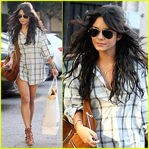 Vanessa Hudgens is Pantless Playful