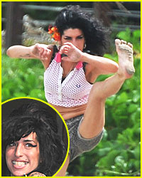 Amy Winehouse is the Karate Kid