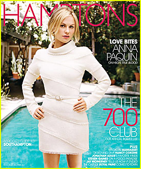 Anna Paquin Covers Hamptons Magazine