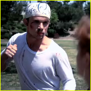 Cam Gigandet Punches Twilight Fan Girls