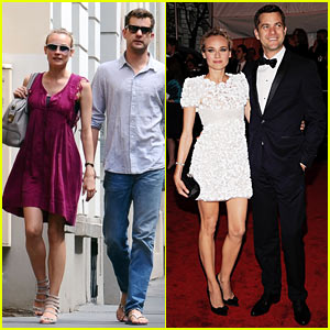 Diane Kruger & Joshua Jackson: Kissing Couple