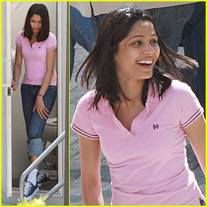 Freida Pinto is Miral Marvelous