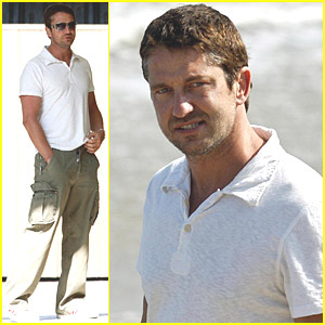 Gerard Butler Likes Long Walks On The Beach