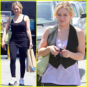 Hilary Duff Talks 'What Goes Up'
