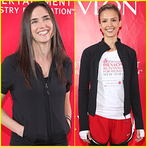 Jennifer Connelly &#038; Jessica Alba: Revlon Radiant