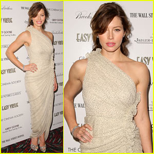Jessica Biel: Easy Virtue Vixen