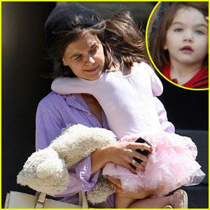 Katie Holmes & Suri Cruise: Little Ballerina
