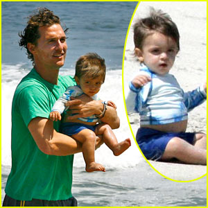 Levi McConaughey is a Beach Baby