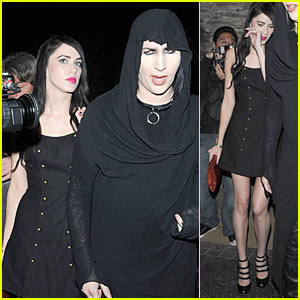 Marilyn Manson &#038; Isani Griffith: Katsuya Couple