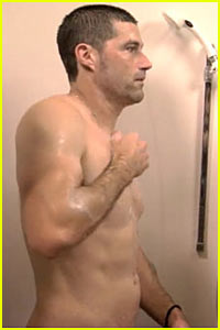 Matthew Fox & Jimmy Kimmel: Shower Buddies