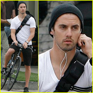Milo Ventimiglia is a Biker Boy