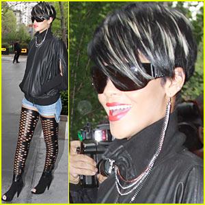 Rihanna: Gramercy Park Hotel Hottie