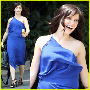 Sophia Bush is Blue for Bags
