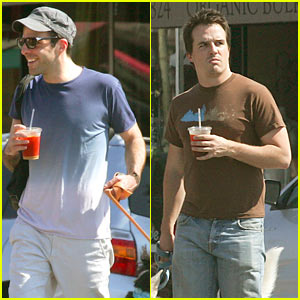 Zachary Quinto & Neal Dodson: Doggy Date!