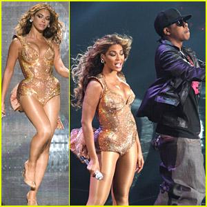 Beyonce Knowles & Jay-Z Kick Off American Tour