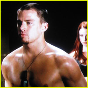 Channing Tatum Goes G.I. Joe Shirtless