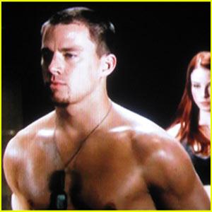 Channing Tatum Goes G.I. Joe Shirtless