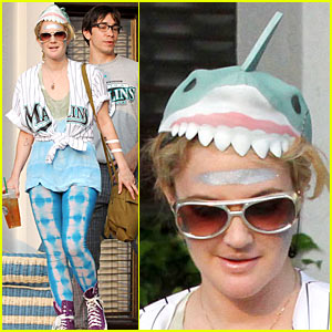 Drew Barrymore is a Shark Head