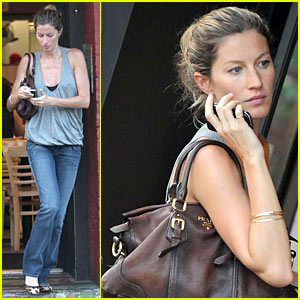 Gisele Bundchen Downs Five Guys