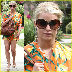 Why Orange You Happy Jessica Simpson?