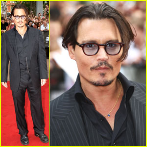 Johnny Depp is Bemused By Bank Robbers