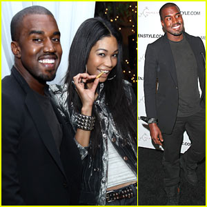 Kanye West & Chanel Iman: Cabana Couple