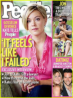 Kate Gosselin Feels Like A Failure