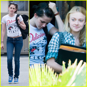 Kristen Stewart &#038; Dakota Fanning: Runaway Duo