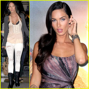Megan Fox Has Uber Confidence