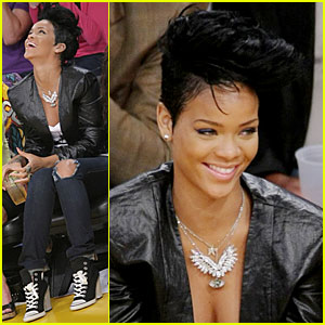Rihanna Brings Lakers Luck