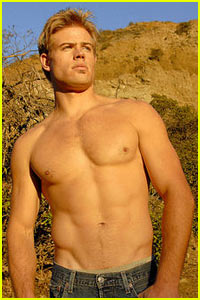 Trevor Donovan is 90210 Shirtless