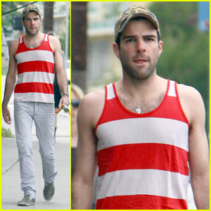 Zachary Quinto: Where's Waldo?