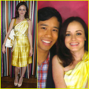 Alexis Bledel is Poppy Pretty