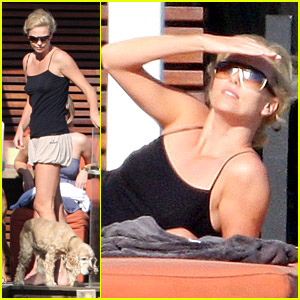 Charlize Theron is a Malibu Beach Babe