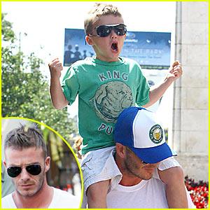 David Beckham: The Grove Shopping Spree