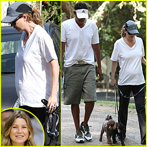 Ellen Pompeo Soaks in SoCal Sun