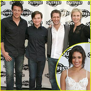 Glee Cast is OutFest Fierce